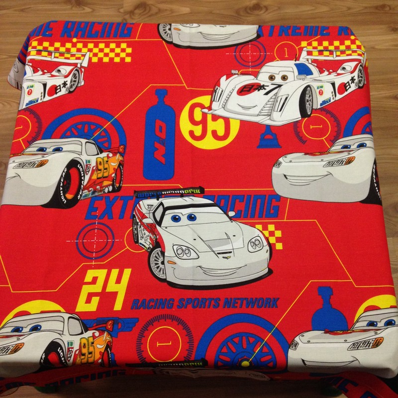 Table cloth (Cars) for party hire Bloemfontein