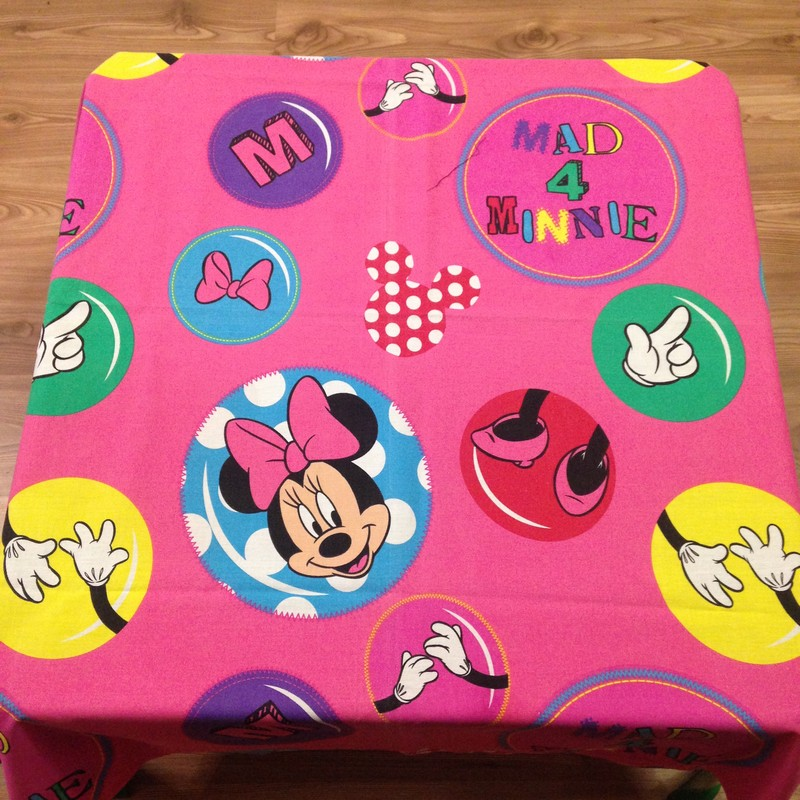 Table cloth (Minnie) for party hire Bloemfontein
